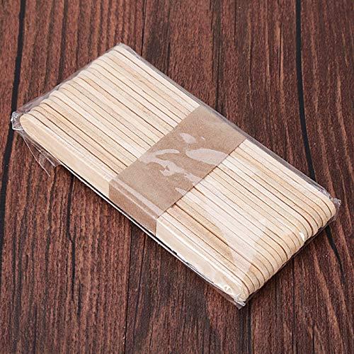 Coner 20 stks handgemaakte hout ijs lolly stok natuurlijke houten ijs sticks voor hand craft maken ijs diy popsicle sticks, m
