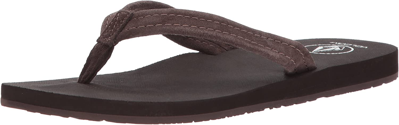 Volcom Womens Victoria Sandal Flip Flop Flip-Flop