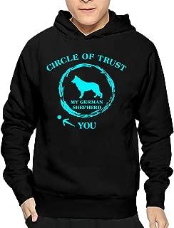 Men's Circle Of Trust My German Shepherd You Hoodie Sweatshirt Funny Pullover