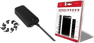 ZONE EVIL Cargador PORTATIL ZE AUTOMATICO 90W + USB ZE-LC90W - Fuente de alimentación (Cargador de batería, Universal, 100-240 V, 50/60 Hz, 90 W, 15-20 V)