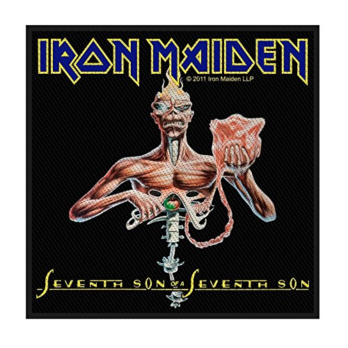Iron Maiden - Seventh Son gewebter Aufnäher / Patch