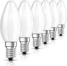 OSRAM LED Retrofit Classic B / LED lamp, Classic Mini Candle Shape: E14, 2.10 W, 220…240 V, 25 W Replacement, Frosted, War...