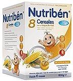 Nutribén Papilla 8 Cereales Miel con Leche Adaptada - 600 gr