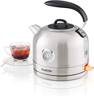 Bollitore Acqua Con Fischio 2 Litri Teiera Bolli Cucina Tè Caffè Tisane idea