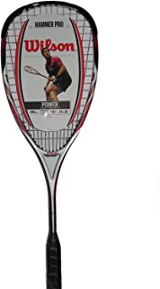 Wilson Hammer Tech Pro Squash Racquet (Strung)