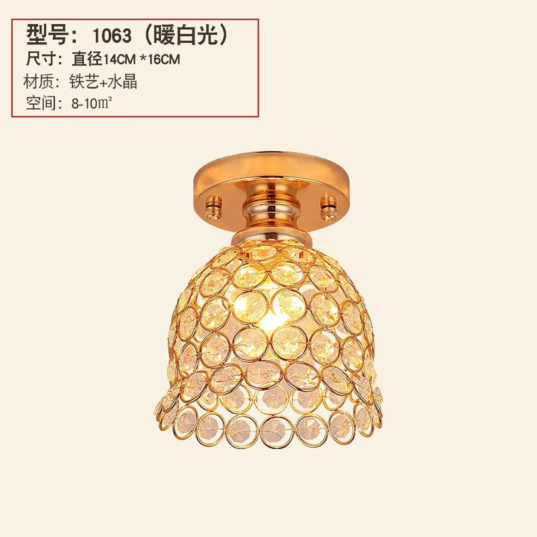 Le respect de l'allée de cristal plafonnier led chambre 1063