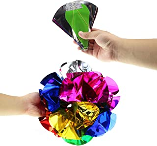 WSNMING Appearing Ball Flower Magic Spring Flower Bouquet Magic Tricks Props Close Up Street Magic Tricks Novelty Party Toys (Diameter 12