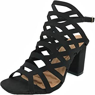 Best caged mid heels Reviews