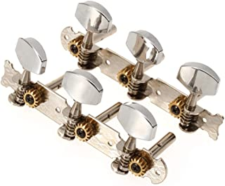 Classical Guitar Tuning Pegs Machine Heads Tuners w/ Chrome Tip
