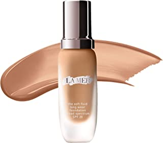 Stockout LA MER The Soft Fluid Long Wear Foundation SPF 20 - COLOR:Tawny 41- Medium to Deep Skin with Cool Undertone - Standard size: Natural finish - SIZE 1 oz/ 30 mL