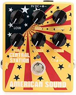 Pedal de efecto para guitarra Caline CP-55 Central Station American Sound (Simulation Ampli Fender Deluxe)