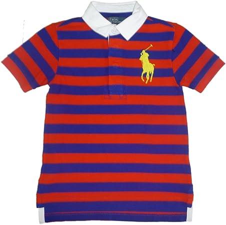 Ralph Lauren chaqueta para niño Polo T-camiseta con cuello de ...