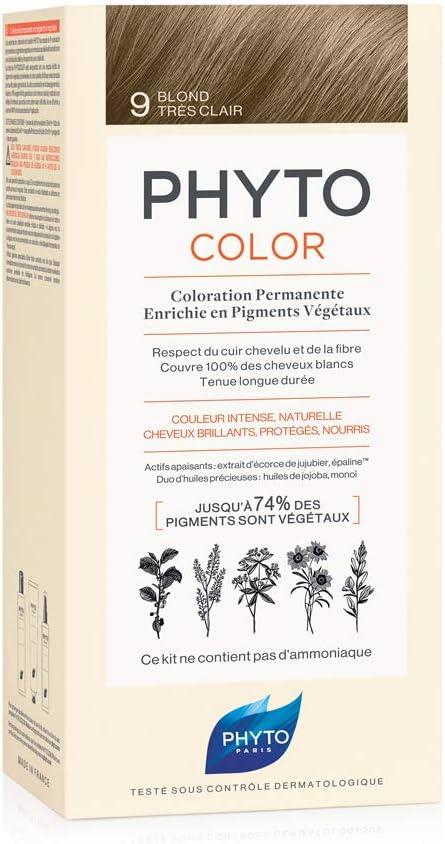 Phyto Tinte Permanente Para Cabello 125 ml