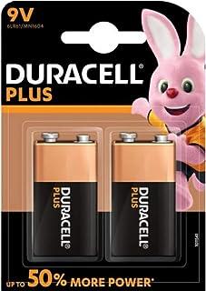 """Duracell DUR105522 alkaline batterij""""PLUS POWER"""", E-blok 9V, 2er"""
