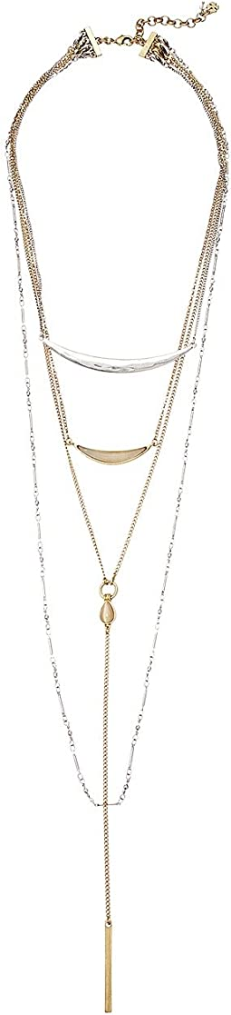 Cat Eye Layer Necklace