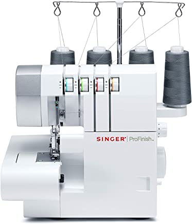 Singer Pro Finish Automatic Sewing Machine Eléctrico - Máquina de Coser (Máquina de Coser automática, Blanco, Overlock, Costura, Variable, Variable, Eléctrico)