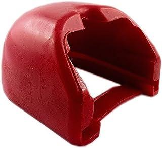 iapyx® Prallschutz soft dock für Kupplungsklaue Zugkugelkupplungen (rot)