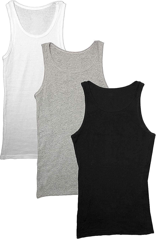 Emprella Mens Free shipping Tank Top Cotton Ribbed Sleeveless Under Tops Spasm price