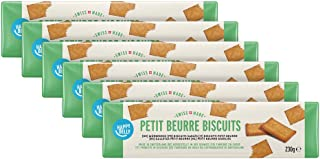 Marca Amazon - Happy Belly - Galletas Petit Beurre, 6x230g