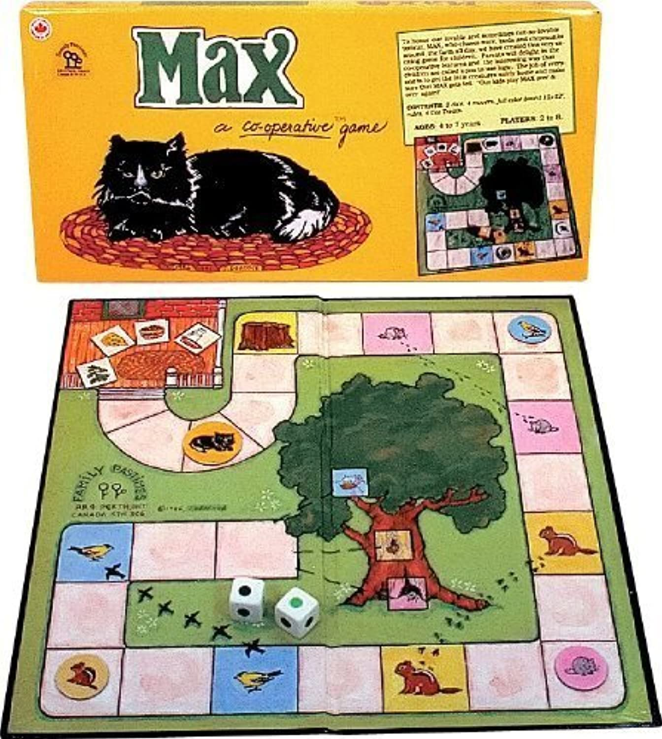 Family Pastimes Max  A Cooperative Game by Family Pastimes