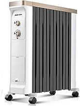 Radiador de Aceite Calentador de espacio Relleno de aceite Calentador de radiador eléctrico Calentador portátil eléctrico Ahorro de energía Radiador vertical Radiador completo Calentador radiante