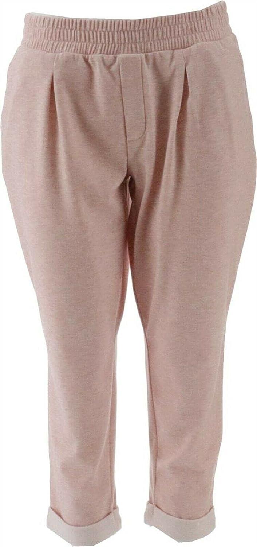 AnyBody Petite Double Knit Pant Cuff A384069
