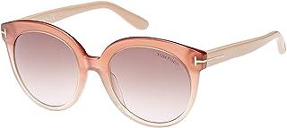 نظارة شمسية للنساء بتصميم بيضاوي من توم فورد - FT0429-74F - 54-20-140 ملم