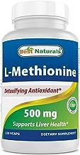 Best Naturals L-Methionine 500 mg 120 Veggie Capsules