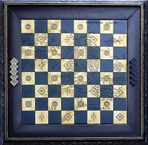 Tablero de ajedrez para la colección Lord of The Rings realizado en Resina