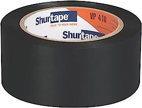 """Shurtape 202810 VP-410 Vinyl Film Tape: 2""""x 36 yd, zwart"""