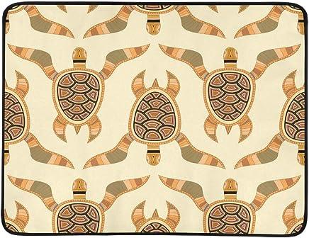EIJODNL Turtles Stylized Sea Turtle Portable and Foldable Blanket Mat Mat Mat 60x78 Inch Handy Mat for Camping Picnic Beach Indoor Outdoor Travel B07MYSH42N | ein guter Ruf in der Welt  da6f4b