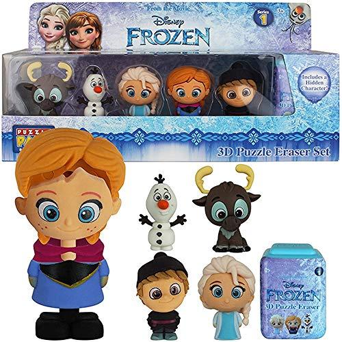 Disney Frozen Puzzle Palz 3D Puzzle Eraser Set