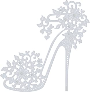 Desirepath Women Rhinestone Stiletto High Heel Shoes Pointed Closed Toe Slip On Dress Party Pumps