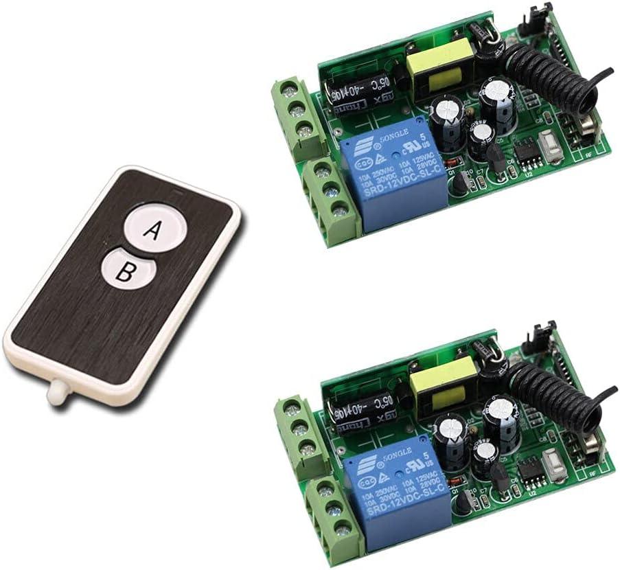 New 85V-250V 10A RF 1CH Control Max 57% OFF Wireless Remote Baltimore Mall Light Switch