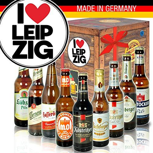 I love Leipzig/DDR Bier Geschenk/Geschenk Leipzig