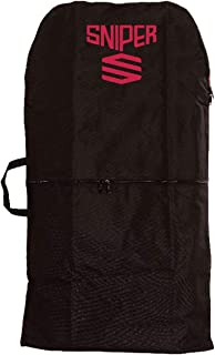 Sniper Bodyboard Single Cover Black/Red
