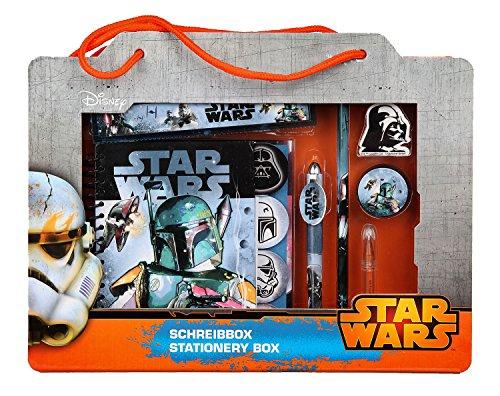 Undercover SWHX1270 - Schreibgeschenk Box Star Wars, 7-teilig, ca. 32 x 24 x 5 cm