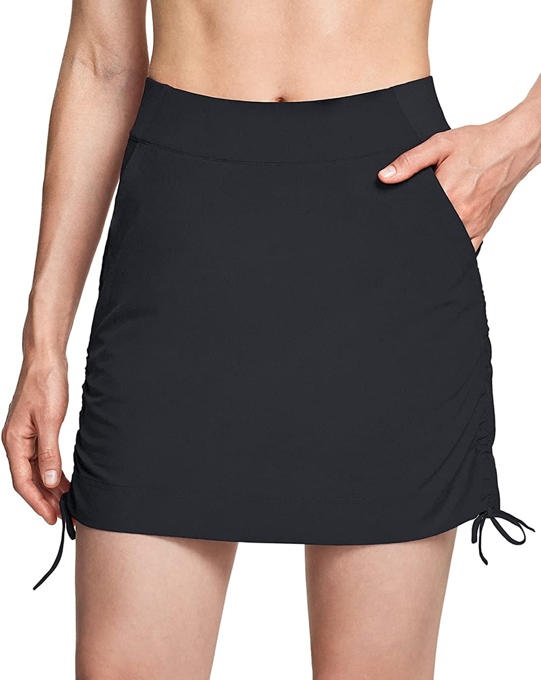 CQR Women's service Outdoor Limited time cheap sale Skort UPF Casual 50+ Active Skirt Athletic