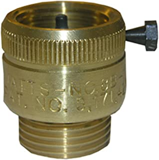LASCO 05-1763 Hose Bibb Vacuum Breaker with 3/4-Inch Female Hose Thread and Male Hose Thread Connection, Brass