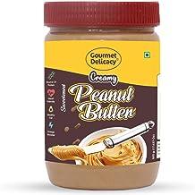 Gourmet Delicacy Creamy Peanut Butter (Gluten Free, Vegan), 500 g