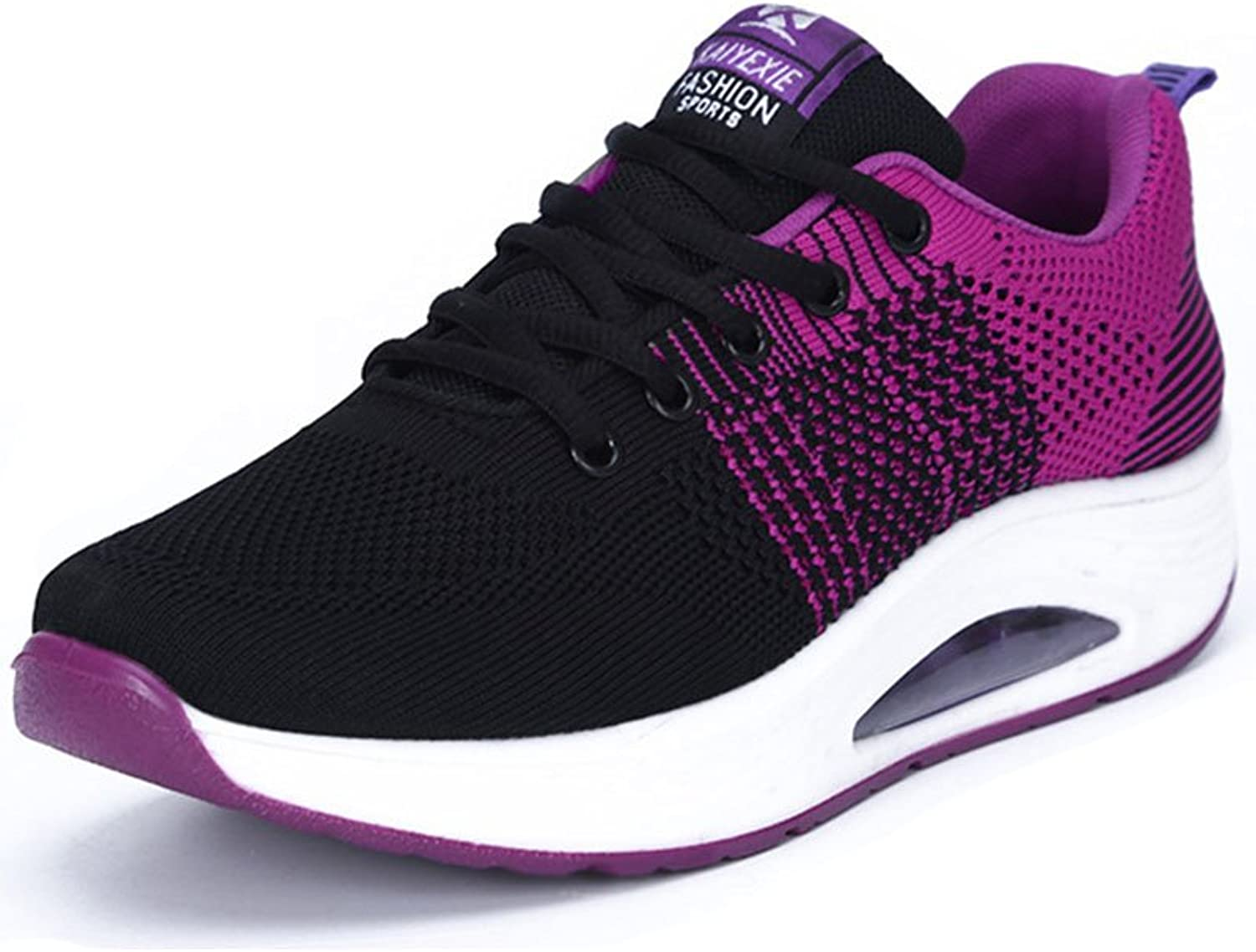 Duberess Women's Air Cushion Athletic Running Sneakers Sport Breathable Gym Jogging Walking shoes