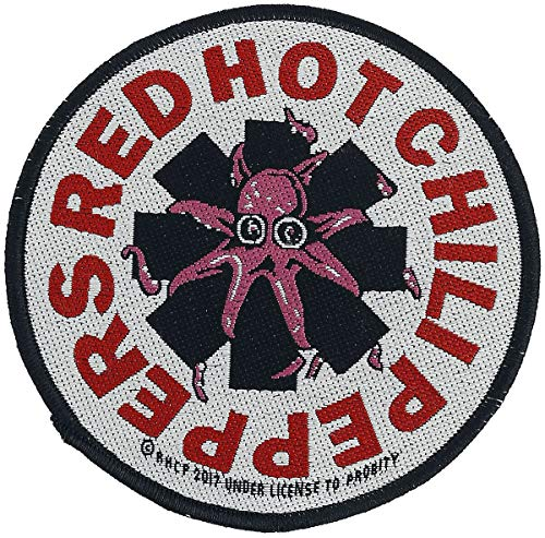 Red Hot Chili Peppers Octopus Unisex Patch multicolor 100% Polyester Band-Merch, Bands