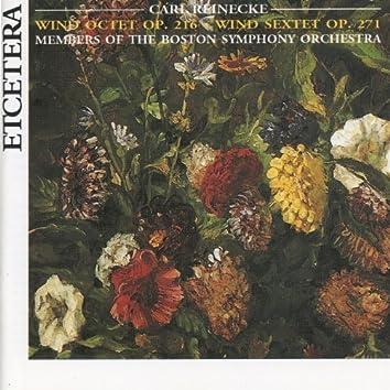 Carl Reinecke, Wind Octet Op. 216, Wind Sextet Op. 271, World premiere recording