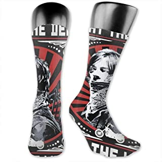 ROBETT The Walking Dead Fear The Living Men & Women Compressionn Socks For Running/Hiking/Athletic/Recovery/Travel And Nurses