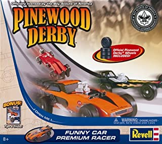 Revell Pinewood Derby Funny Car Premium Racer Kit