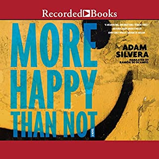 More Happy Than Not audiobook cover art