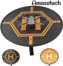 Amazetech Drone Landing Pad for RC Drones Helicopter DJI Mavic Pro Mavic Zoom and Phantom 2/3/4/4 Pro, 32