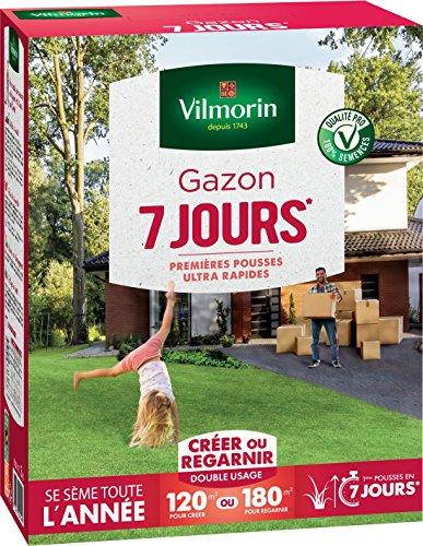 pas cher un bon Vilmorin 44607157 jours herbe, vert, 3 kg