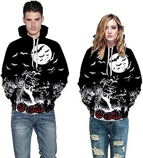 Halloween 3D Print Hoodies Sweatshirt Men Women Mode Long Sleeve Couples Top Blouse Shirts