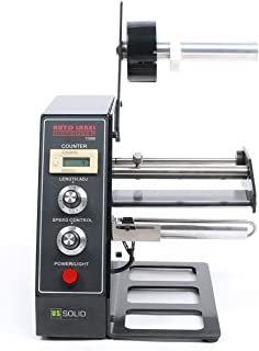 U.S. Solid Automatic Label Dispenser Machine Stripper Separating Machine Speed Control 3-10 m/min Protect Function Fast Motor